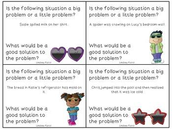 Big Problem, Little Problem Shades: A Social Skills Activity