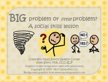 Big Problem or Little Problem? A Social Skills Lesson