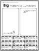 Big Problems Vs. Small Problems K-3 Worksheets