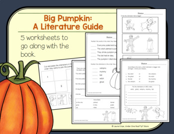 Big Pumpkin: A Literature Unit for Halloween