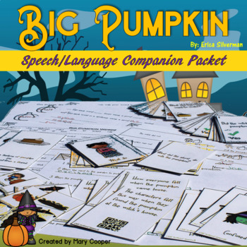 Big Pumpkin: A Speech/Language Book Companion