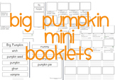 Big Pumpkin By Erica Silverman Mini Books