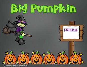 Big Pumpkin - {Freebie}