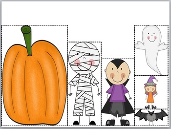 Big Pumpkin Measurement & Data Pack {supports common core for K}