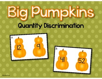 Big Pumpkin: Quantity Discrimination