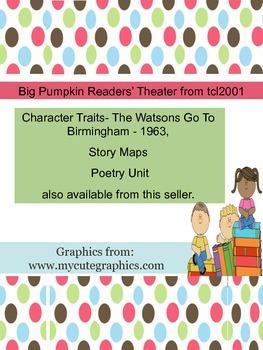 Big Pumpkin Readers' Theater for 5