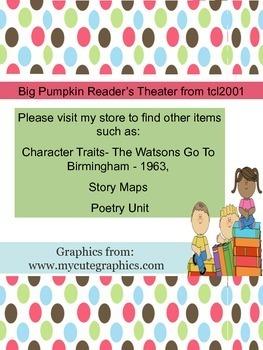 Big Pumpkin Readers' Theater for 8