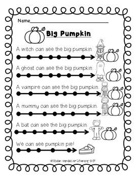 Reading Big Pumpkin