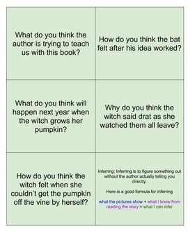 Big Pumpkin: Reading Strategies Packet: Halloween: Centers