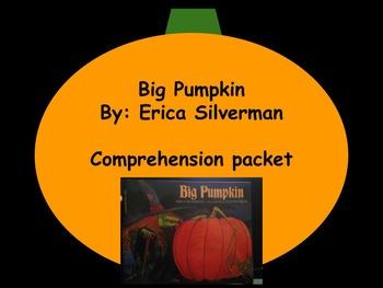 Big Pumpkin: Reading Strategies Packet: Halloween: Centers
