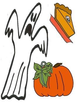 'Big Pumpkin' Retelling Pieces and Pocket Chart Activities
