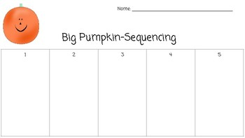 Big Pumpkin Sequencing