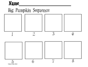 Sequencing Worksheet - Carving A Pumpkin | Have Fun Teaching
