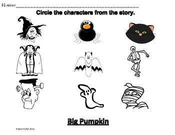 Big Pumpkin Sequencing FREEBIE