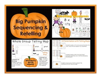 Big Pumpkin Sequencing and Retelling