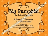 Big Pumpkin Speech & Language Companion Pack