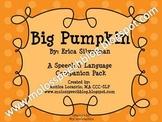 Big Pumpkin Speech & Language Companion Pack