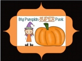 Big Pumpkin Super Pack {supports common core}