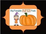 Big Pumpkin Super Pack {supports common core}