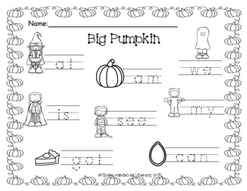 Write the Room Big Pumpkin