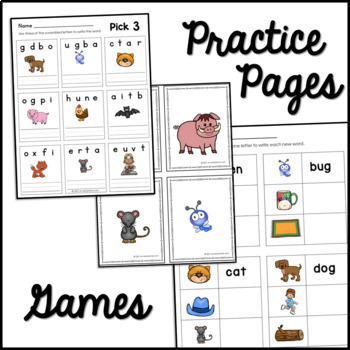 Big Red Barn Chant for Sight Word Reinforcement and Phoneme Substitution Work