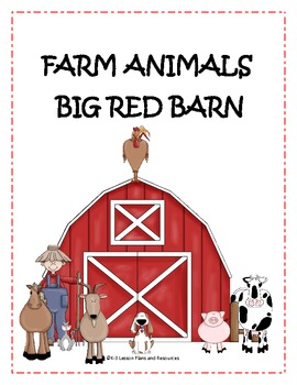 Big Red Barn Farm Animals