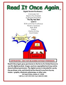 Big Red Barn Level 2 Digital Version