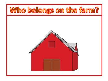 Big Red Barn Literacy Kit