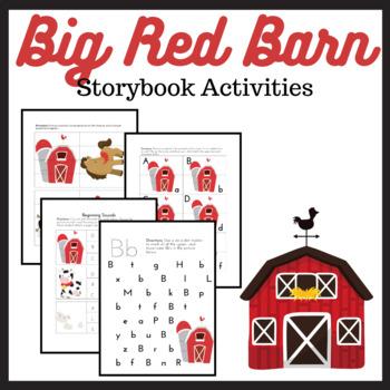 Big Red Barn PreK-K Learning Pack