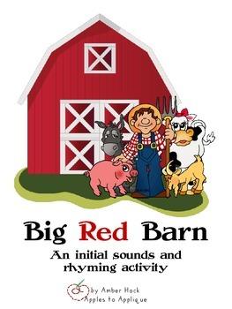 Big Red Barn Rhyming Activity