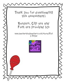 Big Red Lollipop Assessment and Questions