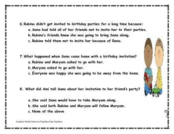 Big Red Lollipop - 2nd Grade-  Reading Materials Bundle