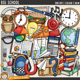 "Back to School Clip Art 2: ""Big School"""