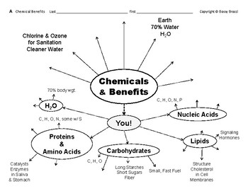 Big Science 1  Matter  12  Chemical Benefits & Health Hazards Graphic Organizers