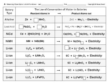 Big Science 4  Props & Changes  35  Balancing Chemical Equ