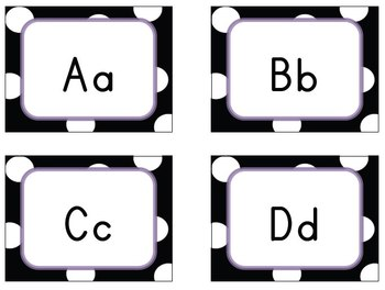 A Set of Alphabet Letters Flashcards (Big&Small)