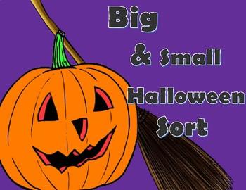 Big & Small Halloween Sort FREEBIE!