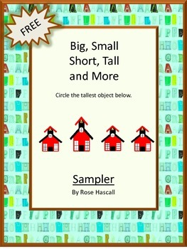 FREE- Big, Small, Short, Tall Sampler