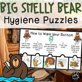 Big Smelly Bear Hygiene Puzzles for Early Childhood