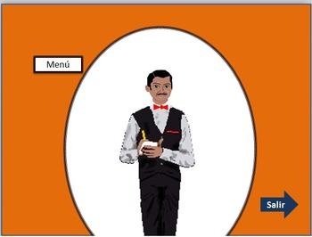Big Spanish 1 combo: Restaurant simulator, listening & reading, peso practice