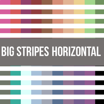 Big Stripes Horizontal Digital Background Paper - Commercial Use Allowed