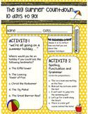 Big Summer Countdown Booklet Flash Freebie