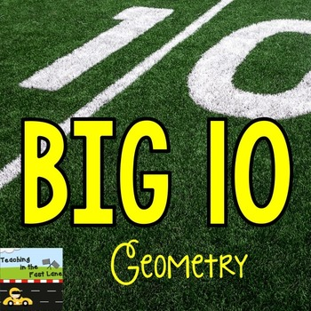 Test Prep for Geometry {FREE SAMPLER}