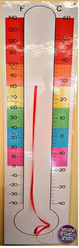 Thermometer (Temperature Teaching Tool)