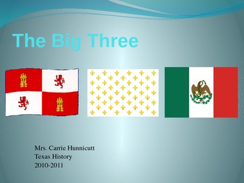 Big Three (Countries that Controlled Texas)