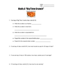 Big Time Crunch 5th Grade STAAR Math Review