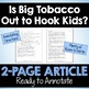 Big Tobacco's Influence on Kids - Close Reading Article & Questions