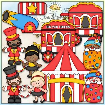 Big Top Circus Clip Art - Big Top Clip Art - CU Clip Art & B&W