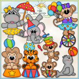 Big Top Circus Animals Clip Art - Circus Clip Art - CU Cli