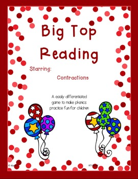 Big Top Reading starring Contractions
